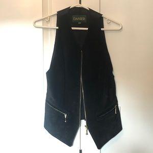 Damier Suede Leather Vest XS
